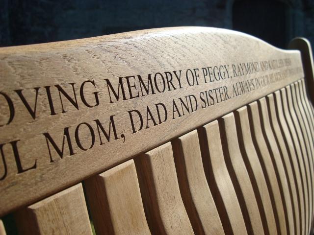 Memorial Benches Windsor Fsc Teak Bench 1500