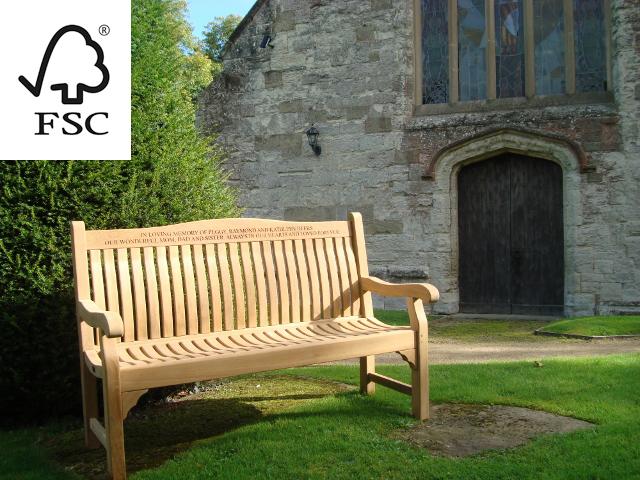 Groovy Memorial Benches Fsc Certified Teak Windsor Range Creativecarmelina Interior Chair Design Creativecarmelinacom