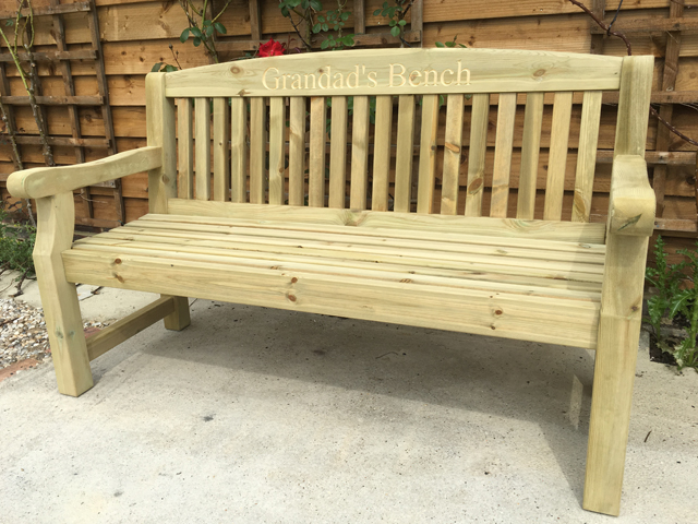 Sensational Garden Benches Cardiff Redwood Bench 1500 Caraccident5 Cool Chair Designs And Ideas Caraccident5Info