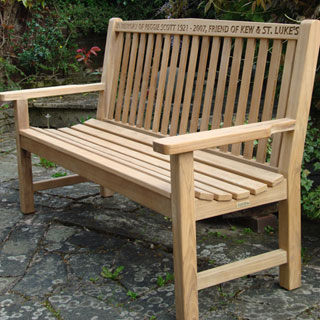 Kingdom Teak Weather Cover For 150cm Wide Bench
