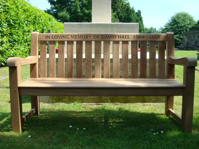 Memorial Benches Britannia Teak Bench 1500