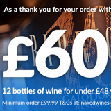 £60 off naked wines voucher