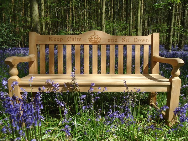Memorial Menches Regent Fsc Teak Memorial Bench 1500