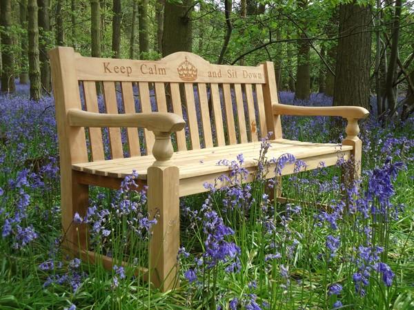 teak park benches memorial menches regent fsc teak memorial bench 1500